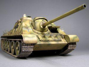 Photos 35229 Jagdpanzer SU-85 (R) w/CREW