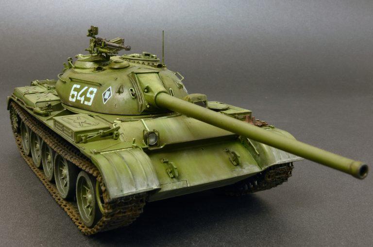 37012 T-54-2 СОВЕТCКИЙ СРЕДНИЙ ТАНК. Обр. 1949 г.