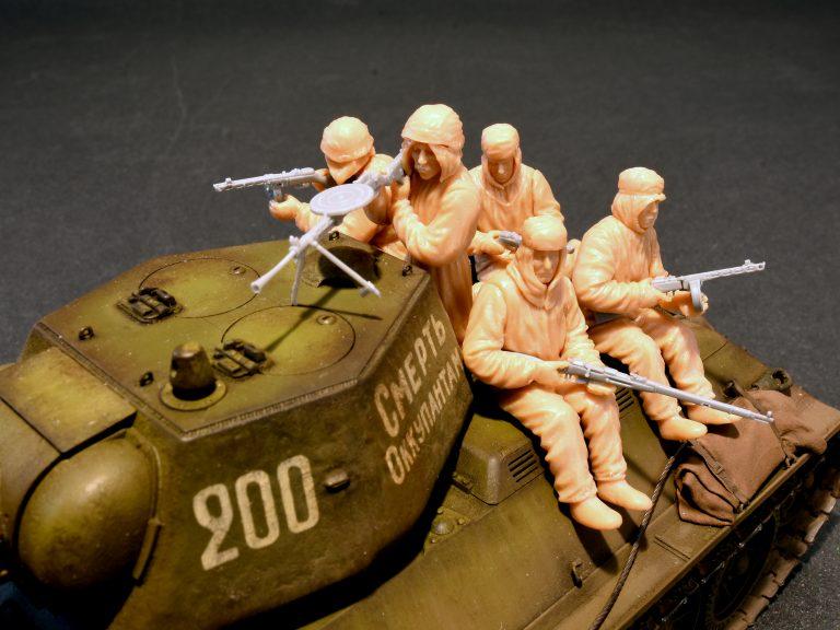 35226 苏联突击步兵(冬季迷彩服)