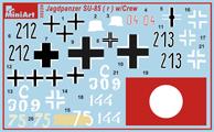 Content box 35229 Jagdpanzer SU-85 (R) mit CREW