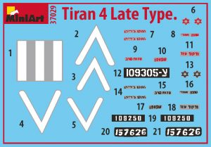 Content box 37029 TIRAN 4 LATE TYPE. INTERIOR KIT