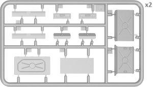 Content box 37012 T-54-2 SOWJETISCHEN MITTELTANK. Mod 1949