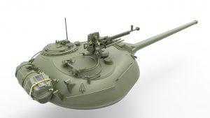 3D renders 37012 T-54-2 SOWJETISCHEN MITTELTANK. Mod 1949