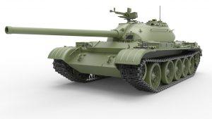 3D renders 37012 T-54-2 SOVIET MEDIUM TANK. Mod. 1949