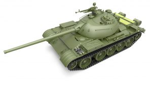 3D renders 37012 T-54-2 SOVIET MEDIUM TANK. Mod. 1949