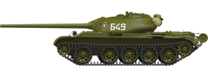 Side views 37012 T-54-2 SOVIET MEDIUM TANK. Mod. 1949