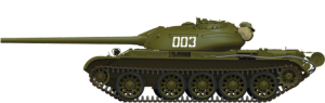 Side views 37012 T-54-2 СОВЕТCКИЙ СРЕДНИЙ ТАНК. Обр. 1949 г.