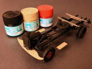 Build up 38014 GERMAN CARGO TRUCK  L1500S