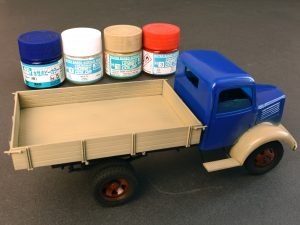 Build up 38014 GERMAN CARGO TRUCK  L1500S