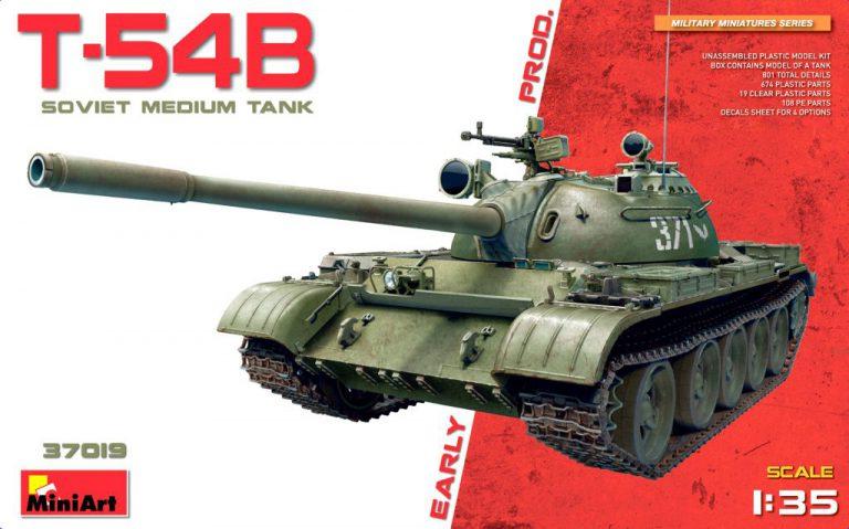 37019 T-54 初期生産型
