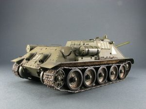 Photos 35204 SU-85 SOVIET SELF-PROPELLED GUN Mod. 1944 EARLY PRODUCTION. INTERIOR KIT