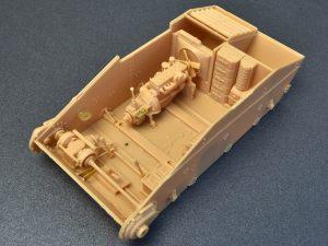 Build up 35215 T-60 EARLY SERIES. SOVIET LIGHT TANK. INTERIOR KIT