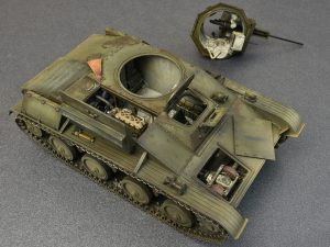 Photos 35215 T-60 EARLY SERIES. SOVIET LIGHT TANK. INTERIOR KIT