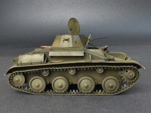 Photos 35215 T-60 EARLY SERIES. SOVIET LIGHT TANK. INTERIOR KIT