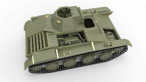 3D renders 35215 T-60 早期 高尔基汽车工厂 带内构