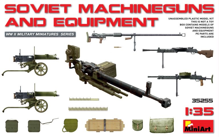 35255 SOVIET MACHINEGUNS AND EQUIPMENT