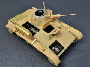 Build up 35215 T-60 EARLY SERIES. SOVIET LIGHT TANK. INTERIOR KIT