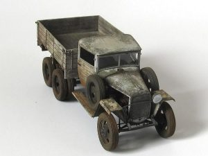 35133 GAZ-AAA   Mod. 1943. CARGO   TRUCK