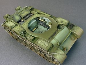 Photos 37007 T-54-3 SOVIET MEDIUM TANK. Mod 1951.  INTERIOR KIT