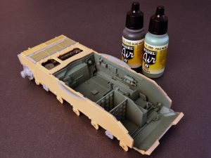 Build up 37007 T-54-3 SOVIET MEDIUM TANK. Mod 1951.  INTERIOR KIT