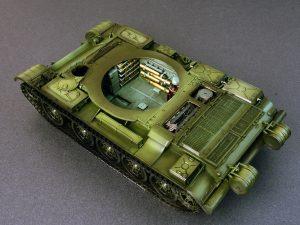 Build up 37007 T-54-3 SOWJETISCHEN MITTELTANK Mod. 1951 INNENRAUM KIT