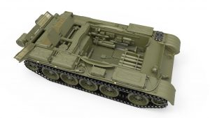 3D renders 37007 T-54-3 SOVIET MEDIUM TANK. Mod 1951.  INTERIOR KIT