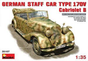 35107 GERMAN CAR TYPE 170V  Cabriolet B + Gunn78