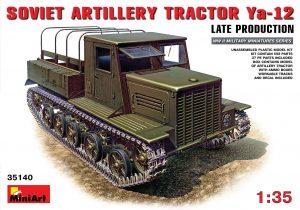 35140 Ya-12 SOVIET ARTILLERY TRACTOR Late Production + Roman Proshkin