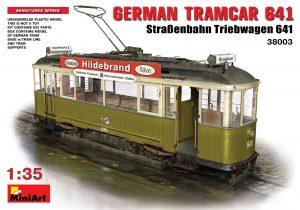 38003 GERMAN TRAMCAR 641 (StraBenbahn Triebwagen 641)