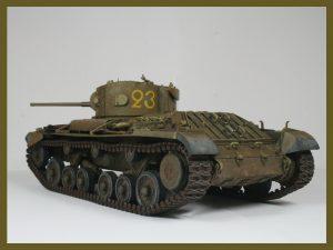 35092 VALENTINE Mk IV. RED ARMY. w/CREW