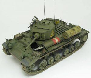 35106 BRITISH INFANTRY TANK Mk.III VALENTINE V w/CREW