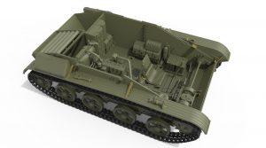 3D renders 35224 T-60第37号工厂早期系列 含内构