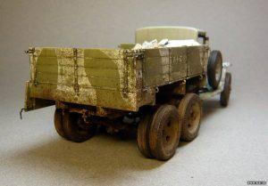 35173 GAZ-AAA Mod. 1941. SOVIET CARGO TRUCK + Alexey Kulikov