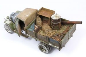 35134 GAZ-MM Mod.1943 CARGO TRUCK