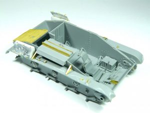 Build up 35224 T-60 PLANT No.37 EARLY SERIES. INTERIOR KIT