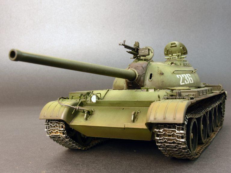 37015 T-54-3 СОВЕТCКИЙ СРЕДНИЙ ТАНК. Обр. 1951 г.