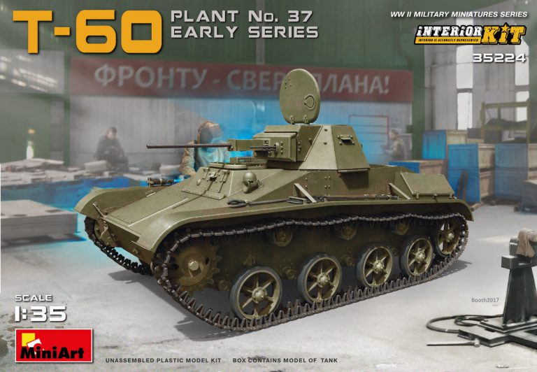 T-60 PLANT No.37 EARLY SERIES. INTERIOR KIT