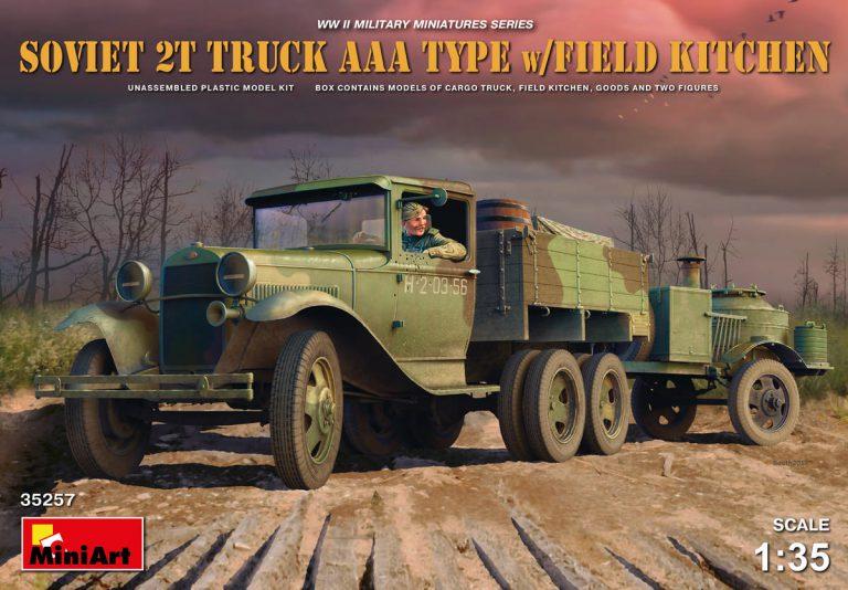 35257 SOVIET 2t TRUCK AAA TYPE w/FIELD KITCHEN