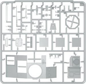 Content box 35224 T-60 PLANT No.37 EARLY SERIES. INTERIOR KIT