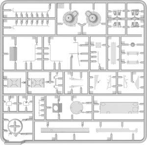 Content box 37015 T-54-3 SOVIET MEDIUM TANK. Mod. 1951