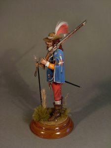 16009 FRENCH MUSKETEER. XVII CENTURY