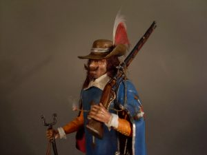 16009 FRENCH MUSKETEER. XVII CENTURY