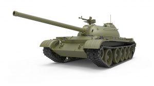 3D renders 37015 T-54-3 SOVIET MEDIUM TANK. Mod. 1951