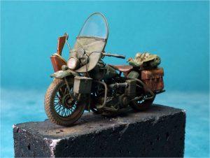 35172 U.S. MOTORCYCLE WLA w/RIDERS
