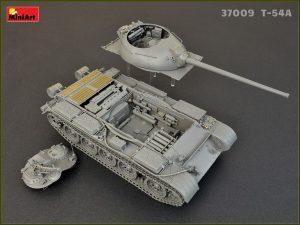 Photos 37009  T-54Aフルインテリア(内部再現)