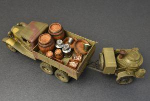 Photos 35257 苏联2吨卡车AAA型 带野战厨房