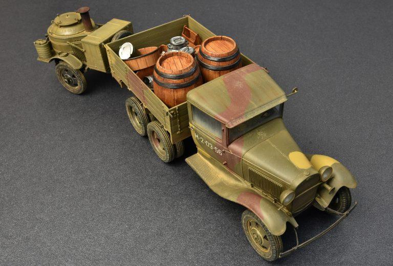 35257 苏联2吨卡车AAA型 带野战厨房