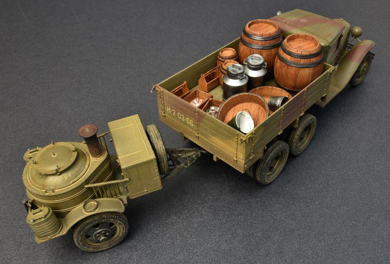 35257 Sowjet 2T Lastwagen AAA Typ w/Feldküche