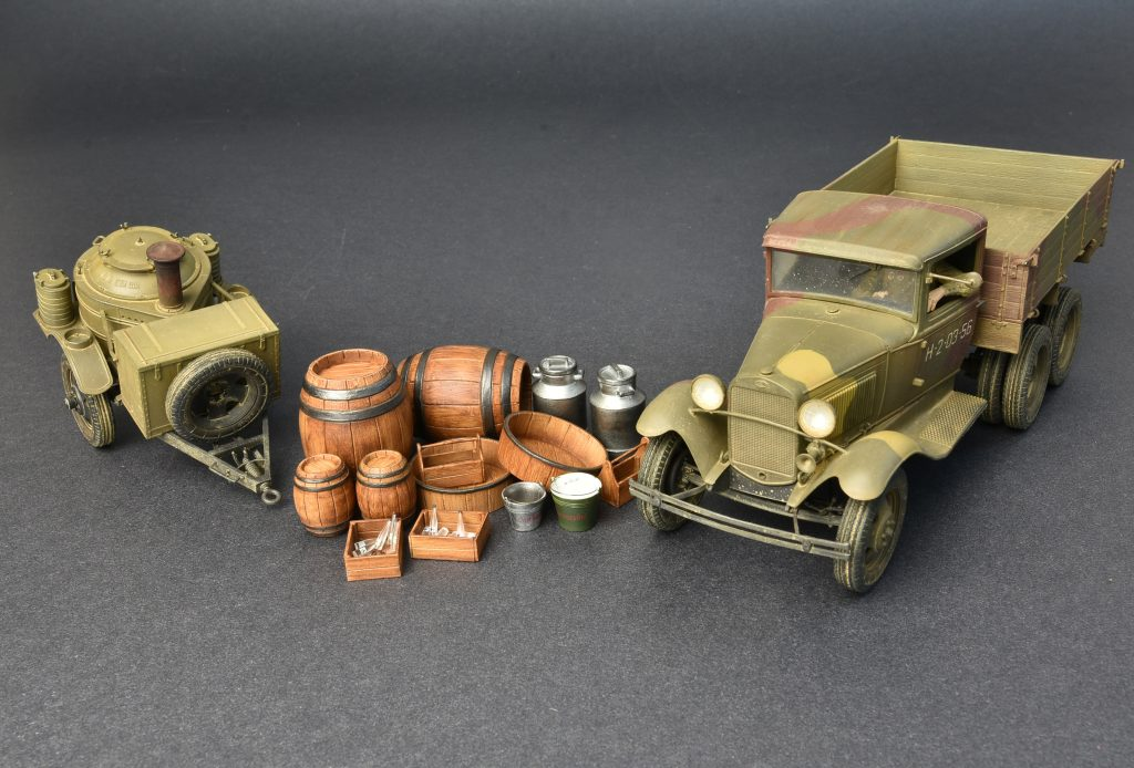 ... 35257 SOVIET 2t TRUCK AAA TYPE W/FIELD KITCHEN ...