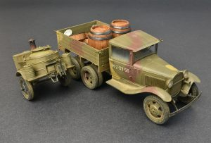 Photos 35257 SOVIET 2t TRUCK AAA TYPE w/FIELD KITCHEN